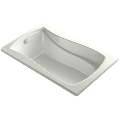 Mariposa Bubblemassage 60 x 36 Soaking Bathtub Finish: Dune