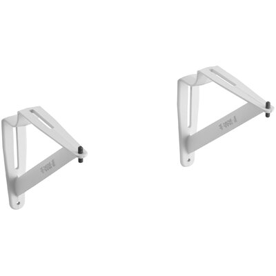 Pair Of Wall Brackets Size: 12