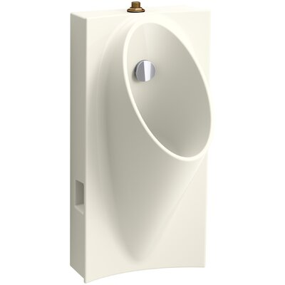 Steward Hybrid High-Efficiency Urinal with 3/4 Top Spud Finish: Biscuit