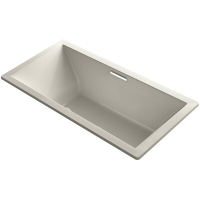 Underscore 72 x 36 Soaking Bathtub Finish: Sandbar