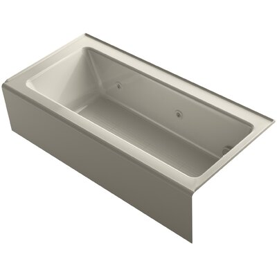 Bellwether 66 x 32 Alcove Whirlpool Finish: Sandbar