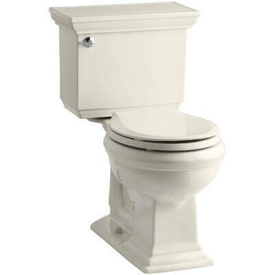 Memoirs Stately Comfort Height 1.28 GPF Round Two-Piece Toilet Finish: Almond