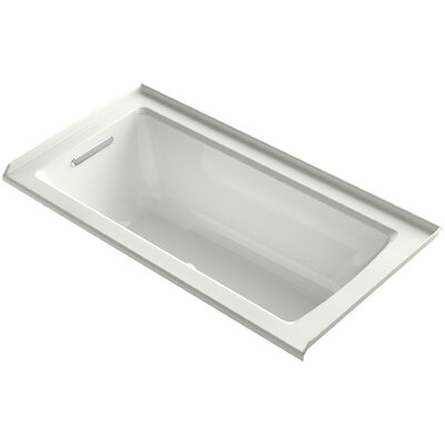 Archer 60 x 30 Air Bathtub Finish: Dune, Drain Location: Left