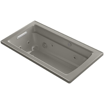Archer 60 x 32 Air / Whirlpool Bathtub Finish: Cashmere