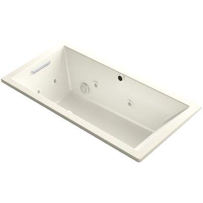 Underscore 60 x 30 Air / Whirlpool Bathtub Finish: Biscuit