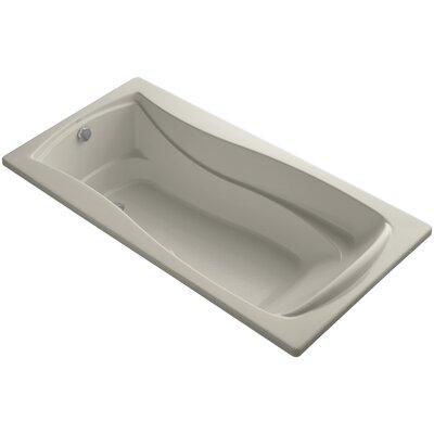 Mariposa Bubblemassage 72 x 36 Soaking Bathtub Finish: Sandbar