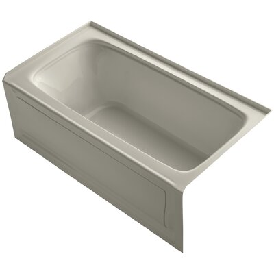 Bancroft 60 x 32 Soaking Bathtub Finish: Sandbar, Drain Location: Right