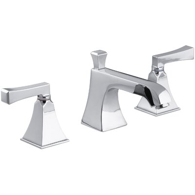Memoirs� Widespread Double Handle Bathroom Faucet with Drain Assembly