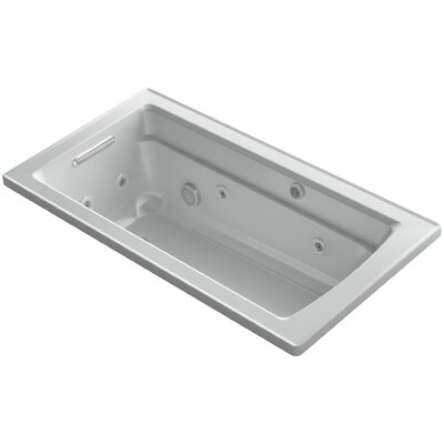Archer 60 x 32 Air / Whirlpool Bathtub Finish: Ice Grey