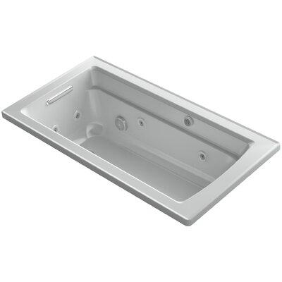 Archer 60 x 32 Air / Whirlpool Bathtub Finish: Ice Grey