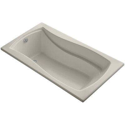 Mariposa Vibracoustic 66 x 36 Soaking Bathtub Finish: Sandbar