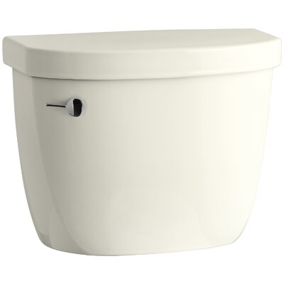 Cimarron 1.28 GPF Tank with Insuliner Tank Liner Finish: Biscuit