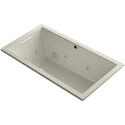 Underscore 60 x 32 Air / Whirlpool Bathtub Finish: Sandbar