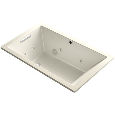 Underscore 60 x 36 Air / Whirlpool Bathtub Finish: Almond