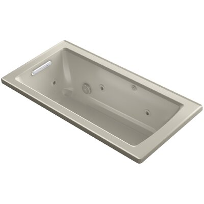 Archer 60 x 30 Drop-In Whirlpool Finish: Sandbar