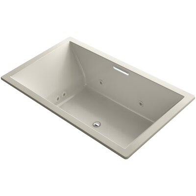 Underscore 72 x 42 Air / Whirlpool Bathtub Finish: Sandbar