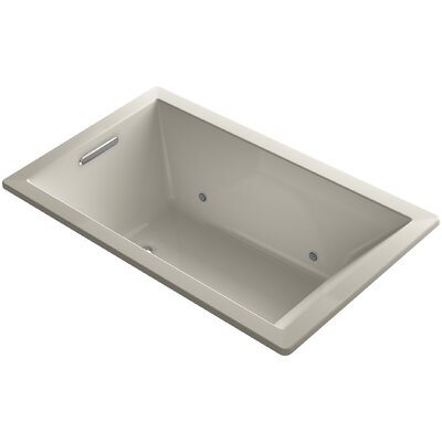 Underscore 60 x 36 Air Bathtub Finish: Sandbar