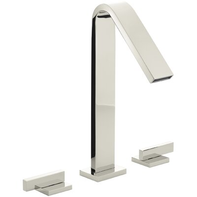 Loure Deck-Mount Bath Faucet Finish: Vibrant Polished Nickel