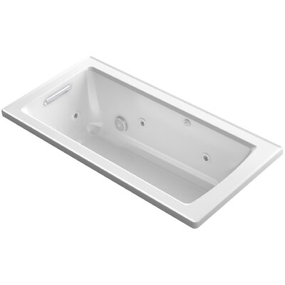 Archer 60 x 30 Drop-In Whirlpool Finish: White
