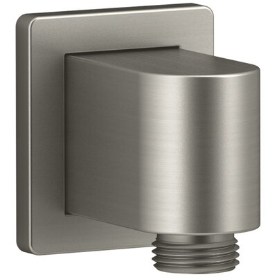 Awaken Wall-Mount Supply Elbow with Check Valve Finish: Vibrant Brushed Nickel