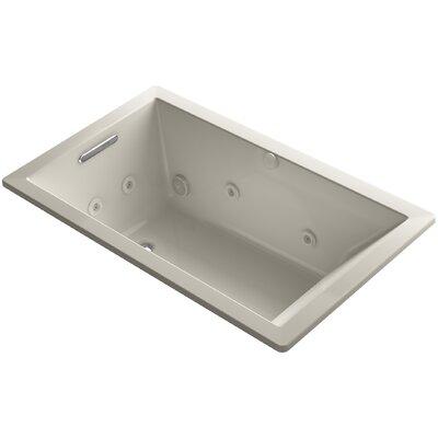 Underscore 60 x 36 Whirlpool Bathtub Finish: Sandbar