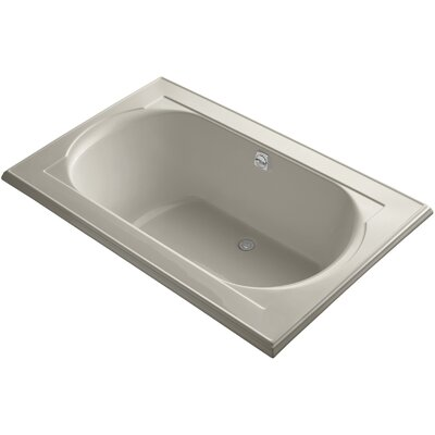Memoirs Vibracoustic 66 x 42 Soaking Bathtub Finish: Sandbar