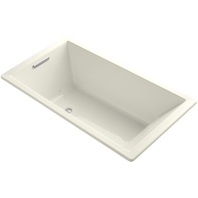 Underscore 66 x 36 Air Bathtub Finish: Biscuit