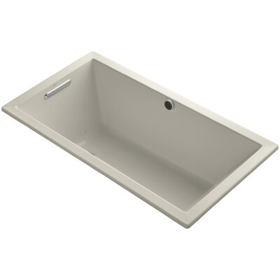 Underscore 60 x 32 Air Bathtub Finish: Sandbar