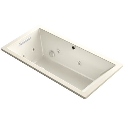Underscore 60 x 30 Air / Whirlpool Bathtub Finish: Almond