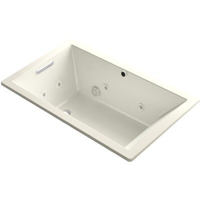 Underscore 60 x 36 Air / Whirlpool Bathtub Finish: Biscuit