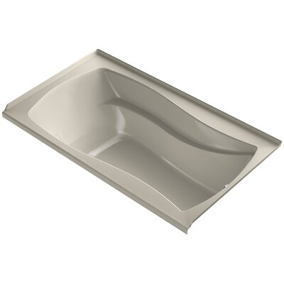Mariposa 66 x 36 Air Bathtub Finish: Sandbar, Drain Location: Right