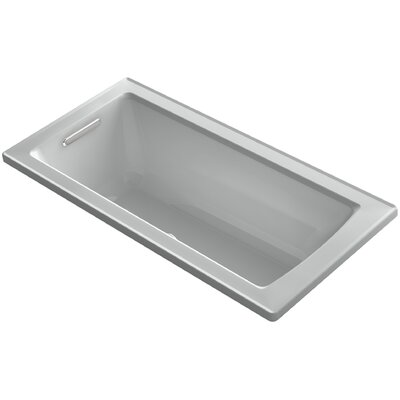 Archer 60 x 30 Soaking Bathtub Finish: Ice Grey