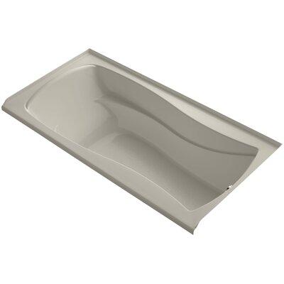 Mariposa 72 x 36 Soaking Bathtub Finish: Sandbar, Drain Location: Right