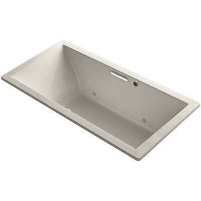 Underscore 72 x 36 Air Bathtub Finish: Sandbar