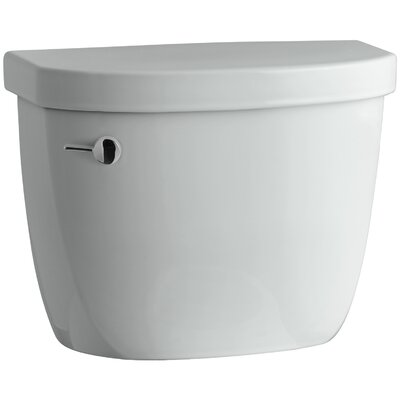 Cimarron 1.28 GPF Tank with Insuliner Tank Liner Finish: Ice Grey