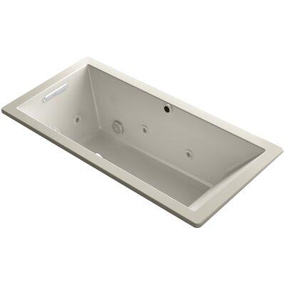 Underscore 66 x 32 Air / Whirlpool Bathtub Finish: Sandbar