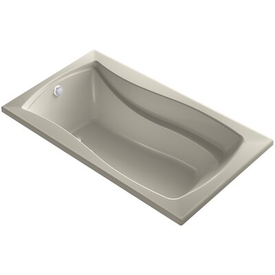 Mariposa Bubblemassage 66 x 36 Soaking Bathtub Finish: Sandbar