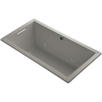 Underscore 60 x 32 Air Bathtub Finish: Cashmere