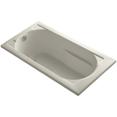 Devonshire Vibracoustic 60 x 32 Soaking Bathtub Finish: Sandbar