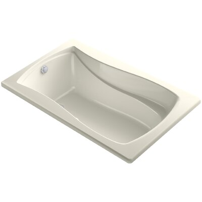 Mariposa Bubblemassage 60 x 36 Soaking Bathtub Finish: Biscuit