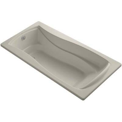 Mariposa Vibracoustic 72 x 36 Soaking Bathtub Finish: Sandbar