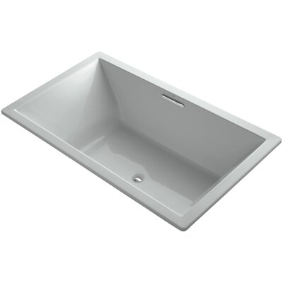 Underscore 72 x 42 Soaking Bathtub Finish: Ice Grey