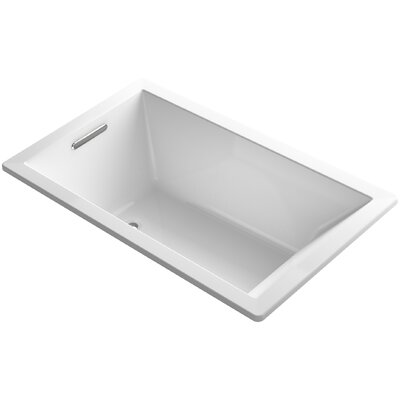 Underscore Vibracoustic 60 x 36 Soaking Bathtub Finish: White