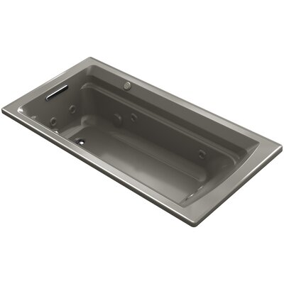 Archer 72 x 36 Air / Whirlpool Bathtub Finish: Cashmere