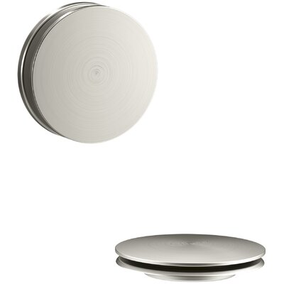 Clearflo Retrofit 3.25 Toe Touch Bathroom Sink Drain Finish: Vibrant Brushed Nickel