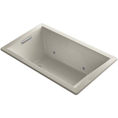 Underscore 60 x 36 Air Bathtub Finish: Sandbar