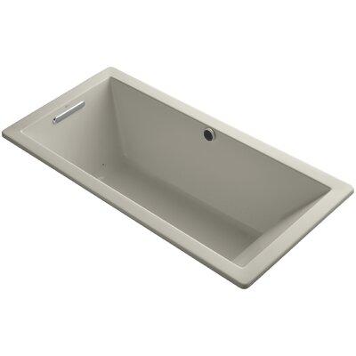 Underscore 66 x 32 Air Bathtub Finish: Sandbar