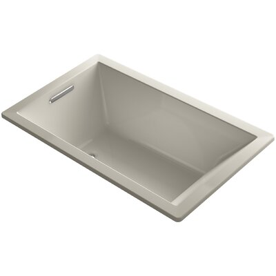 Underscore Vibracoustic 60 x 36 Soaking Bathtub Finish: Sandbar