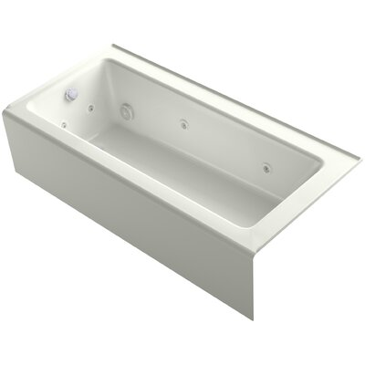 Bellwether 66 x 32 Alcove Whirlpool Finish: Dune