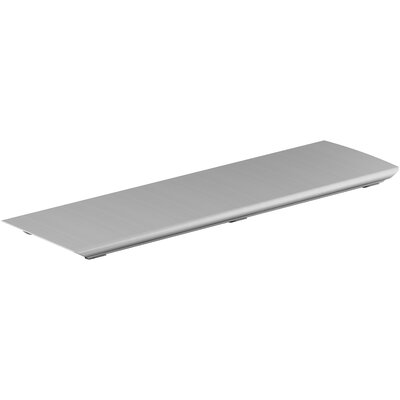 Bellwether Aluminum Drain Cover Finish: Brushed Nickel